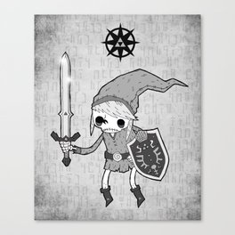 Undead Link Canvas Print