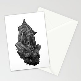 Selenite Lighthouse Stationery Cards