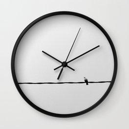 Solo (II) Wall Clock
