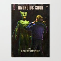 Androids Saga - Dr Gero's Monster Canvas Print