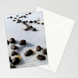 Watercolor Poop, Elk 01, Moraine Park, RMNP, Colorado Stationery Cards