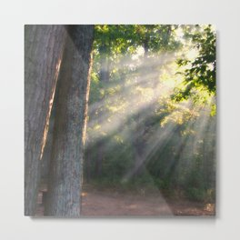 Camp Sunrise Metal Print