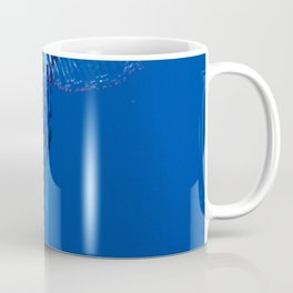Fish and friend jellyfish Man O´War Coffee Mug