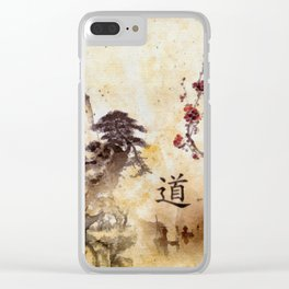 Tao Te Ching Clear iPhone Case
