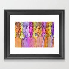 Them Framed Art Print