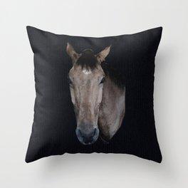 Danny - horse Throw Pillow