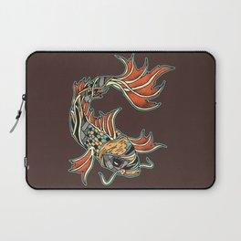 Bio-Mechanical Koi Laptop Sleeve