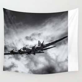 Through The Clouds Wall Tapestry