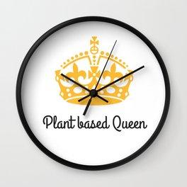 Plant Queen Wall Clock
