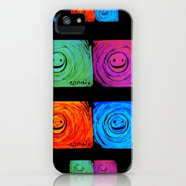 Ennui - Smiles For All  iPhone Case