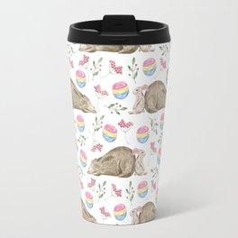 bear pattern (7) Travel Mug