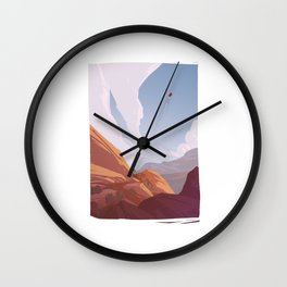 Red Rocks - The Travellers Wall Clock