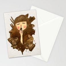 Chocoholic Stationery Cards
