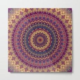 Mandala 240 Metal Print