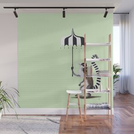 Ring Tailed Lemur Wall Mural
