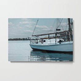 Sails on the Water Metal Print