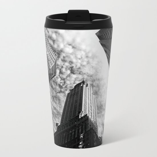 Metropolis - New York City Metal Travel Mug