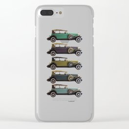 Five Cadillacs Clear iPhone Case