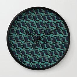 Brontosaurus Mania Wall Clock