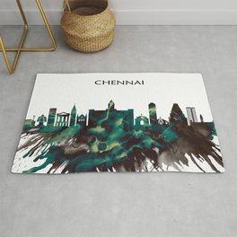 Chennai Skyline Rug