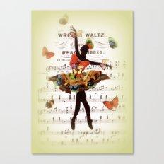 Butterfly Waltz Canvas Print