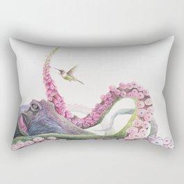 Foxglove Octopus Rectangular Pillow