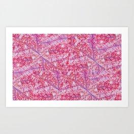 Crackles Art Print
