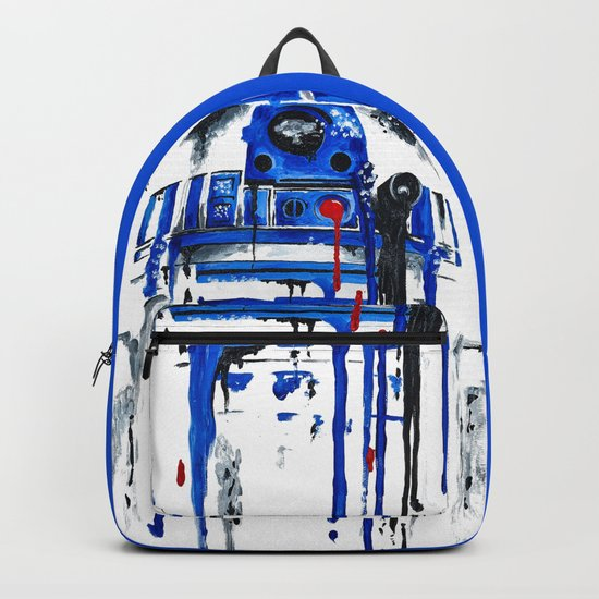 A blue hope 2 Backpack