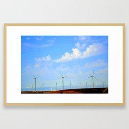 Irreal Framed Art Print