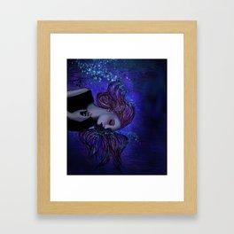 Ocean Embrace Framed Art Print
