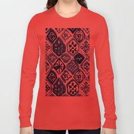 Arabesque tile art Long Sleeve T-shirt