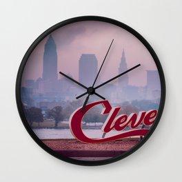 Homesick Wall Clock