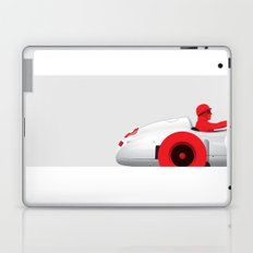 Juan Manuel Fangio, Mercedes W196, 1955 Laptop & iPad Skin