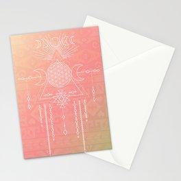 Tribal Moon Goddess Stationery Cards