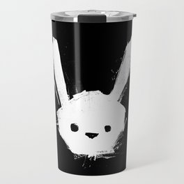 minima - splatter rabbit  Travel Mug