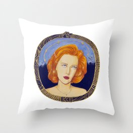 Patron Saint of Skeptics Throw Pillow