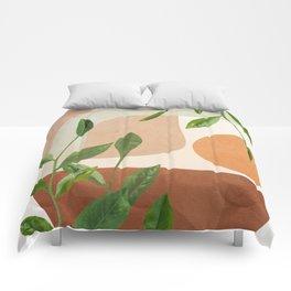 Nature Geometry XI Comforters