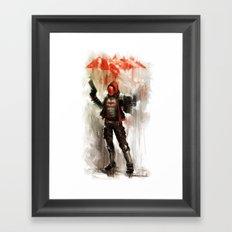 REDhood Framed Art Print