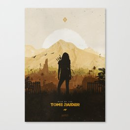 Rise of the Tomb Raider Canvas Print