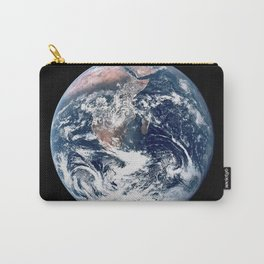 Apollo 17 - Iconic Blue Marble Photograph Carry-All Pouch