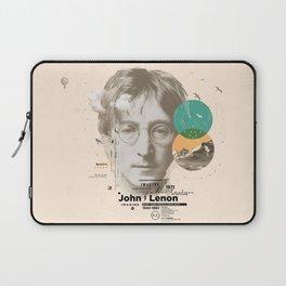 john lenon-imagine Laptop Sleeve