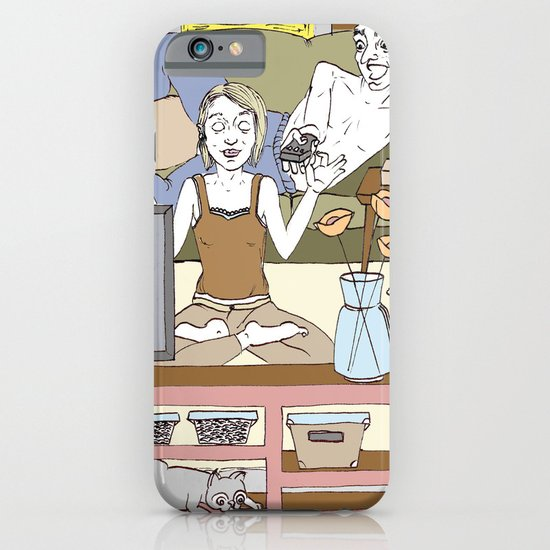 Living together iPhone & iPod Case