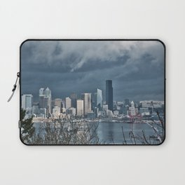 Seattle's shades of gray Laptop Sleeve