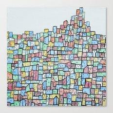Hill. Canvas Print