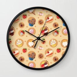 Scrumptious! Wall Clock