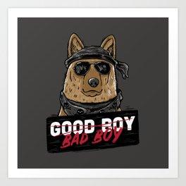 Good Boy Bad Boy Art Print