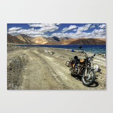 what a ride...what a feeling..! Canvas Print