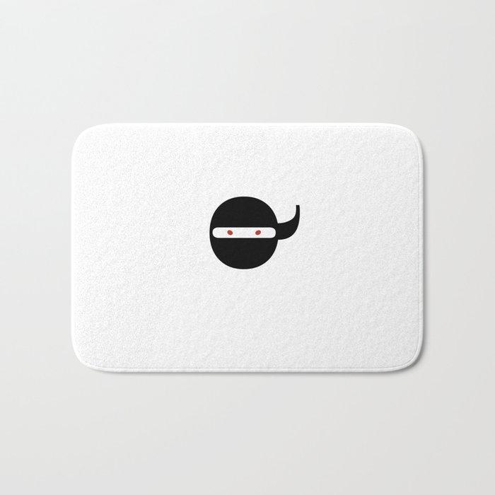 Bodoni Ninja Bath Mat