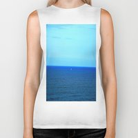 boat Biker Tanks featuring Boat ▲ by ArmyofTheLegs