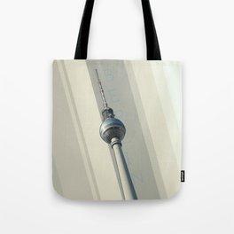 Berlin Communication Tower Tote Bag